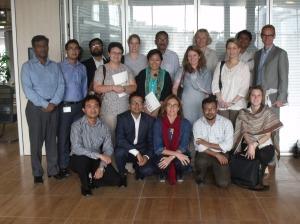 Representanter fra Grammenphone, Telenor, UNICEF Bangladesh og UNICEF Norge